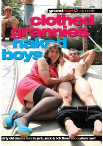 Clothed Grannies Naked Boys