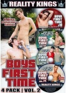 BOX Boys First Time Vol. 02 4 Pack