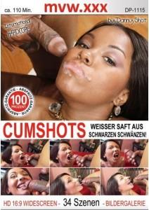 Cumshots - Weisser Saft aus schwarzen Schwänzen