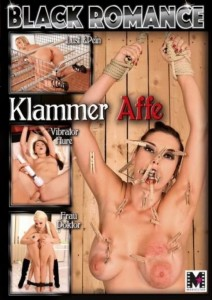 BLACK ROMANCE Klammer Affe