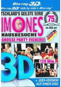 3D-BR Simones Hausbesuche - Die grosse Party-Fickerei (3D + 2D) 1 Disc