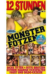 BOX 12 Stunden Monsterfotzen (4 DVD)