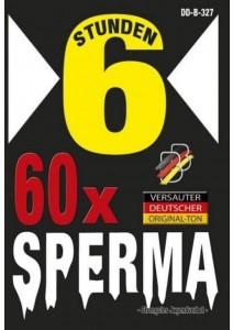 60x Sperma - 6 Std.