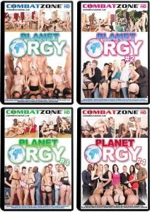 COMBAT ZONE ORGY 8-PACK