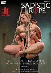 Blonde Hottie Takes Severe Torment in Brutal Bondage